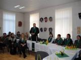 Pagėgių savivaldybės mero Virginijaus Komskio sveikinimo žodžiai Pagėgių krašto literatams bei renginio svečiams.