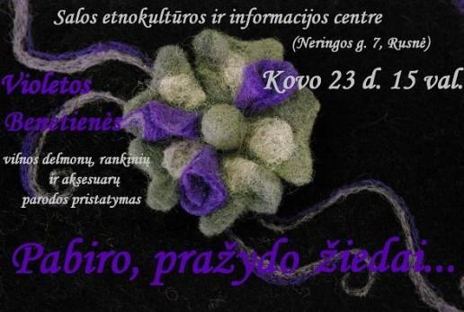 Violetos Benetienės paroda
