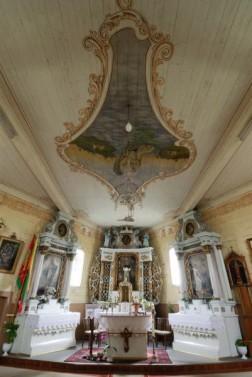 Degučių Šv.Vincento Ferero bažnyčios vidus