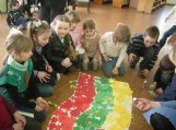 """Gardamo pagrindinės mokyklos pradinių klasių mokinių baigiamoji konferencija """"Lietuviais esame mes gimę"""""""