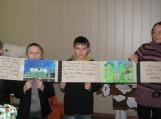 ,,Knygos kelionė bibliotekoje'' - mokiniai su mokytoja Vilima Zymoniene.