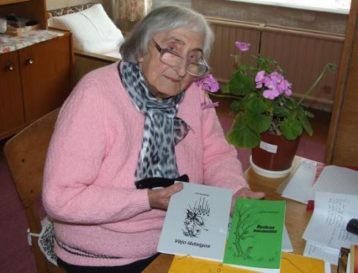 Poetė Lina Daukšaitė