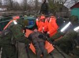 Potvynio įkalinti Pagėgių krašto gyventojai sulaukė pagalbos