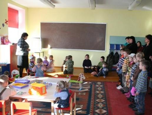Duris atvėrė dar vienas vaikų užimtumo kambarys