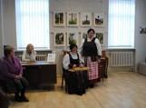 Riešinių parodos pristatymas Pagėgių viešojoje bibliotekoje