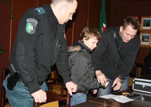 Šilutės moksleiviai domėjosi policininkų darbu