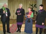 Daugiau nei dešimtmetį Rusnėje šeimininkavusį Voitechą Deniušą (kairėje) pakeis Dalia Drobnienė (dešinėje). Nuotrauka Birutės Servienės