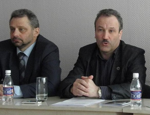 Alvidas Šimelionis ir Vytautas Laurinaitis