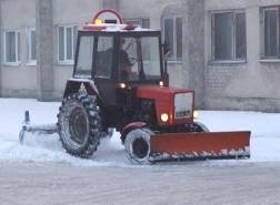 Sniego valymas