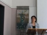 Jūratė Caspersen atidaro konferenciją