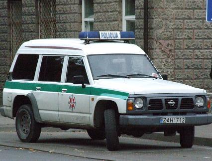Policijos džipas