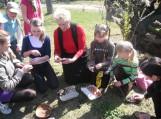 Senoviniai margučių marginimo ypatumai Katyčių bendruomenės namuose