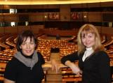 Šilutės Vydūno gimnazijos mokytojos Europos parlamente, Didžiojoje posėdžių salėje