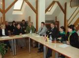 Susitikimas su Kashuri centrinės bibliotekos bei Lietuvos ambasados Gruzijoje delegacija.