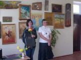 Dianos Maldeikytės-Behm tapybos darbų paroda F. Bajoraičio viešosios bibliotekos Švėkšnos filiale.