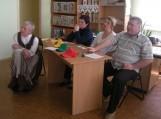 Griežtą žiuri komisiją sudarė mokyklos direktorės pavaduotoja ugdymui Rasa Žemaitienė, renginio iniciatorė mokytoja Lilija Zdanevičienė, Virginija Lidžiuvienė ir Sergejus Nikonovas.