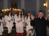 Prieš spektaklį į visus susirinkusiuosius kreipėsi evangelikų liuteronų kunigas Mindaugas Žilinskis