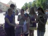 """Merginų grupėje greičiausia buvo keturiolikmetė Aistė Noreikaitė, ji """"aplink Šilutę"""" apibėgo per 31 min. 30 sek."""