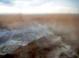 Durpyno gaisras iš oro