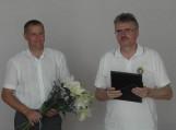 Su garbingu 80-ties metų jubiliejumi pasveikintas ilgametis sporto vadovas – Juozas Grigonis