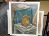 Viktoras Bučius padovanojo keletą tapybos paveikslų