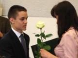Baltos rožės iš I.Vasiljevienės rankų