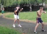 Šilutėje stovyklauja ir treniruojasi šalies vyrų ir jaunimo bokso rinktinės