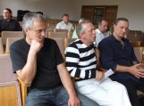 Daugiausiai klausimų ir kitokios informacijos merui pateikė R.Jaruškevičius (viduryje)