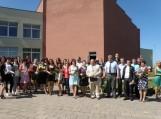 Žemės ūkio mokykloje įteikti diplomai