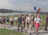 """""""eXtreme 2×100 km 2011""""  žygio """"Kruvinuoju keliu"""" dalyviai"""