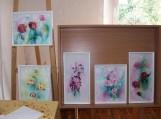 Kintų filiale eksponuojama Šilintos Jančauskaitės tapybos darbų paroda