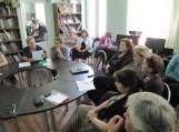Khashuri bibliotekoje edukacinių lavinamųjų renginių metu