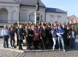 Projekto dalyviai Klaipėdoje