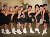 """Kantri šokių kolektyvo """"Salūnas"""" vaikų grupės užėmusios I,II, III vietas."""