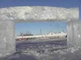 Šilutės ugniagesiai išpjovė ledą