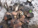 Natkiškiuose degė namas, gaisre žuvo vienas žmogus