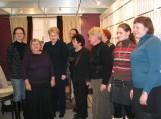 Šilutiškiai Vilniaus knygų mugėje'2012 su Lietuvos Respublikos Prezidente Dalia Grybauskaite. Nuotraukos Sandros Jablonskienės