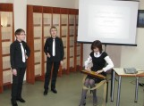 Rajono vaikų meno mokyklos jaunųjų dainininkų duetas (mokyt. Daiva Pielikienė).