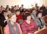 Rajono vadovai 2011 m. ataskaitas pristatė Žemaičių Naumiestyje
