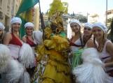 """Žvaigždūnė pasauliniame Nicos karnavale. Nuotraukos """"Žvaigždūnė"""" šokių kolektyvo"""