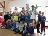 Su autore vaikų lopšelio-darželio Raudonkepuraitė atstovai