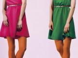Pavasarį vyraus ryškiaspalvės suknelės