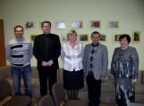 Nuotraukosje (iš kairės) Vygantas Paldauskas, Arvydas Jakas, Birutė Morkevičienė, Audrius Šikšnius ir Bronė Paldauskienė. Nuotraukos Genės Gofmanienės