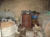 Šilutiškio daržinėje rastas aparatas naminei degtinei gaminti