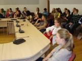 Šilutės r. savivaldybėje priimta moksleivių delegacija iš šešių Europos šalių