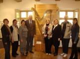 Delegacija lankėsi Kintų Vydūno kultūros centre