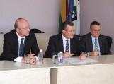 Nuotraukoje (iš kairės) Arūnas Valinskas, Raimondas Šukys ir Jonas Jučas. Nuotraukos Gintaro Radzevičiaus