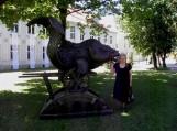 Naująją skulptūrą miestelėnai jau pamėgo