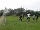 Draugiškos futbolo rungtynės tarp mokytojų ir mokinių