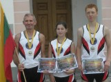 """XXI tradicinis tarptautinis estafetinis bėgimas """"Baltijos kelias""""."""